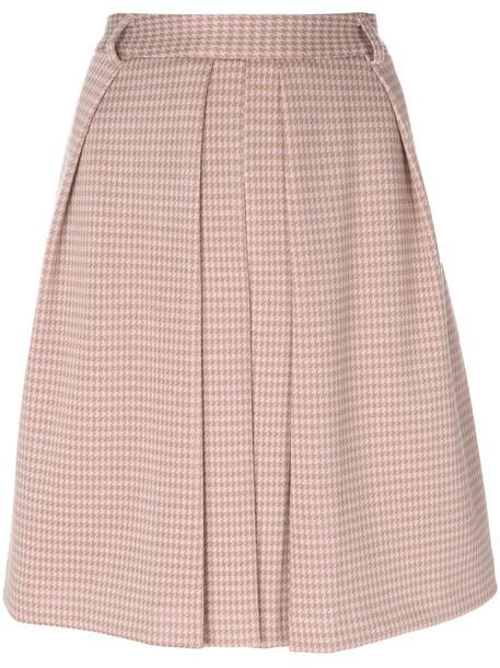 Steffen Schraut skirt pleated skirt pleated women spandex cotton purple pink