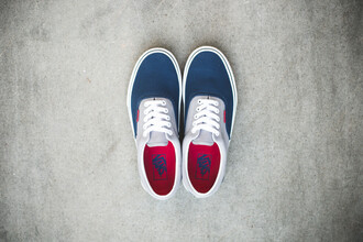 shoes vans sneakers eras multicolor
