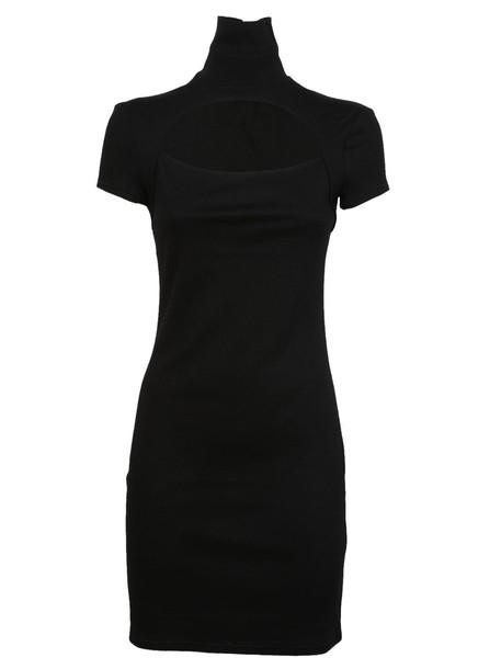 Helmut Lang dress cut-out dress cut-out