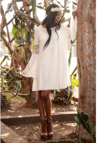 dress boho boho chic boho dress boho chic dress lace dress bell sleeves bell sleeve dress white dress white lace dress boho goddess lace bell sleeve dress boho bohemian style dress boho godess