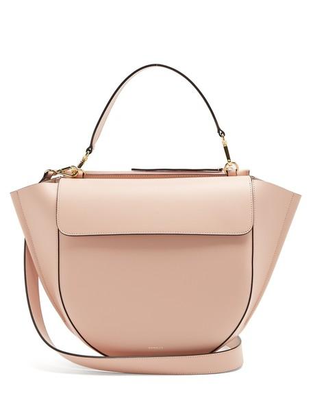 Wandler bag shoulder bag leather light pink light pink