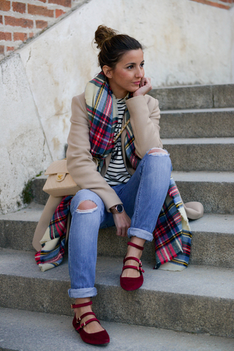 lovely pepa blogger shoes jeans t-shirt bag scarf jewels