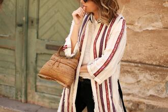my daily style blogger jacket bag belt sunglasses handbag gucci belt spring outfits