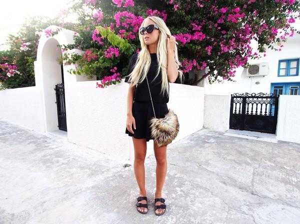 victoria tornegren blogger shoes bag top skirt sunglasses
