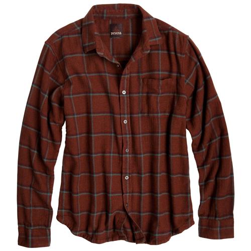 prAna Dutchman Flannel Shirt - Men's at SunnySports