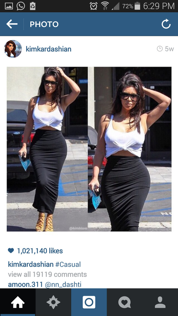kim kardashian top tubeskirt kim kardashian