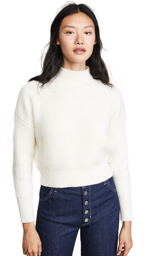 Knot Sisters Libby Sweater in white