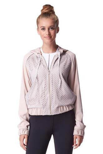 jacket light pink grey michi bikiniluxe
