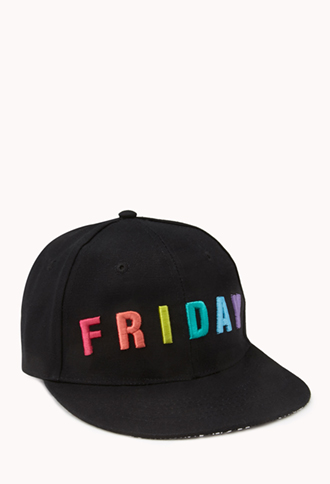 Friday Fitted Cap | FOREVER 21 - 2000090129