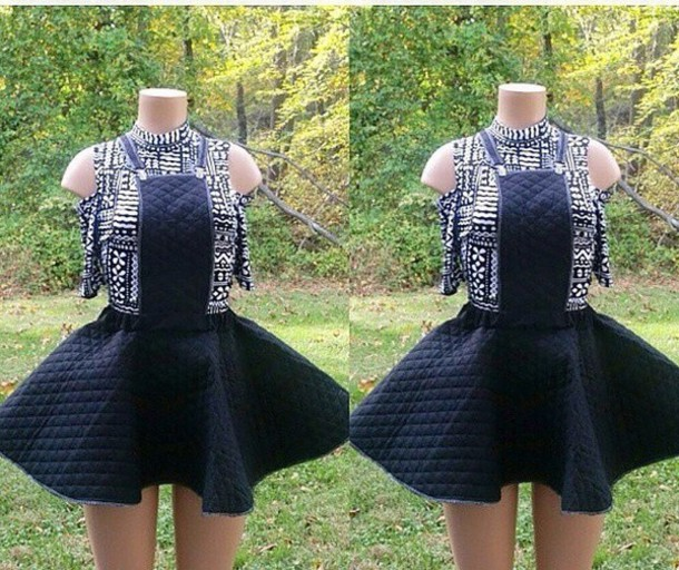 skirt dress plus size quilted