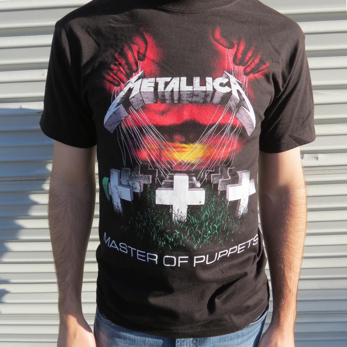 METALLICA.com | Store | Master of Puppets T-shirt