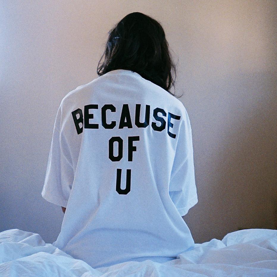 Rl grime — because of u shirt
