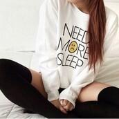 pajamas,pullover,sweater,need more sleep,sleep,smiley,cute,me