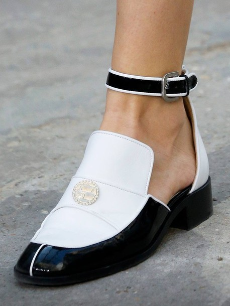 Shoes Chic Fashion Style Streetstyle Chanel Loafer