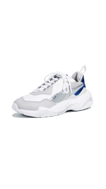 PUMA Thunder Electric Sneakers in grey / violet / white