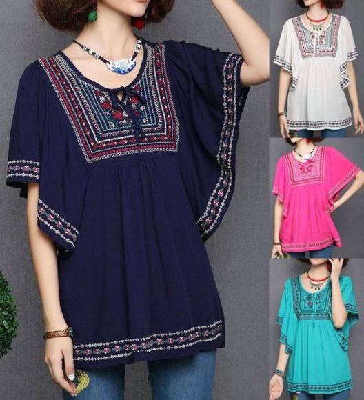 blouse ethnic