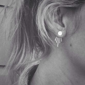 jewels silver earrings jewelry