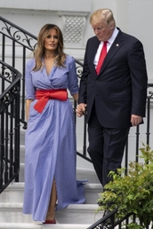 dress,melania trump,belt,maxi dress,flats,shoes,summer dress,ballet flats,summer,summer outfits