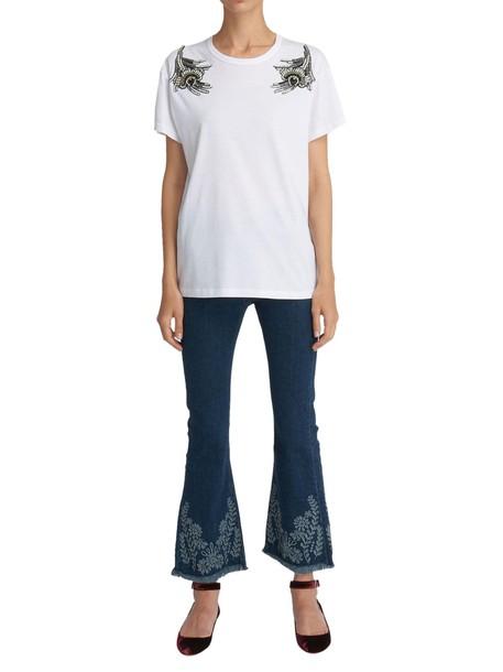 N.21 tshirt. white top