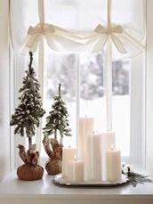christmas,holiday home decor,candle,bag
