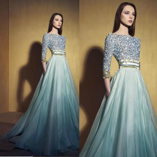 Good Prom Dress Websites Arabic Dubai Luxury Prom Dresses With