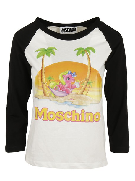 Moschino t-shirt shirt t-shirt baseball top