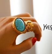jewels,ysl,arty ring,saint laurent,yves saint laurent