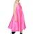 Flared Techno & Silk Satin Dress