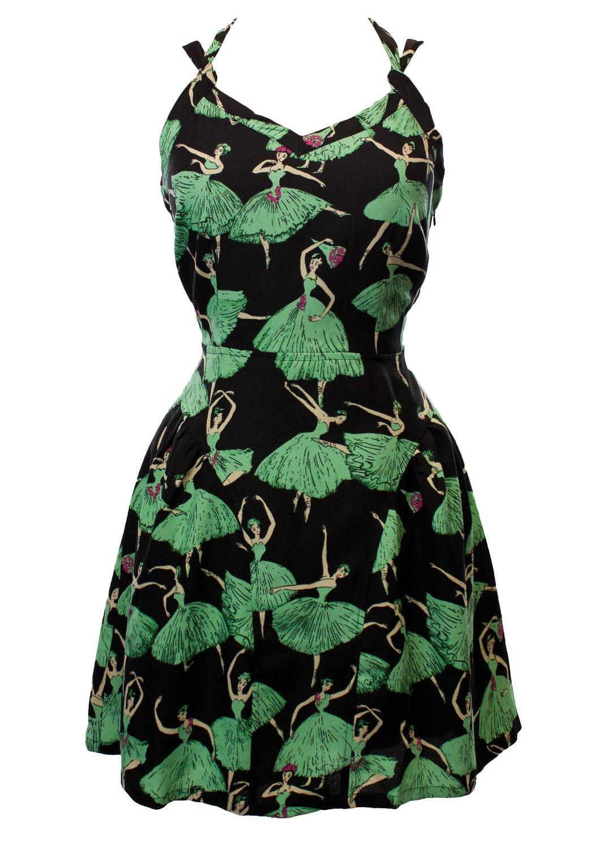 ballerina print cami dress black mint large at amazon women u0027s
