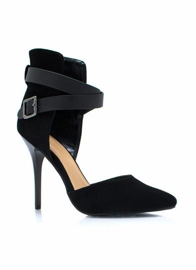 Heels black mediumtan