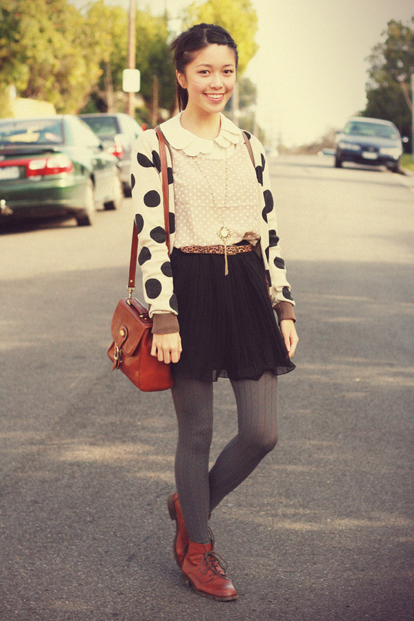 cardigan kani black sweater white sweater