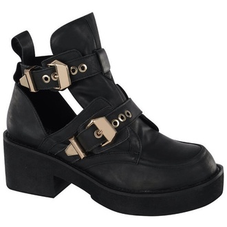 jeffrey campbell boots cut out ankle boots