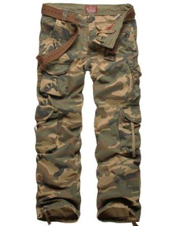 Amazon.com: Match Men's Woodland Camo Military Cargo Pants #6326M: Clothing