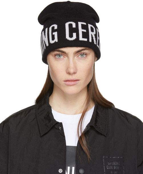 opening ceremony beanie black hat