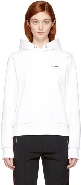 Misbhv hoodie white off-white sweater