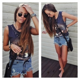 tank top t-shirt fashion top grey color/pattern