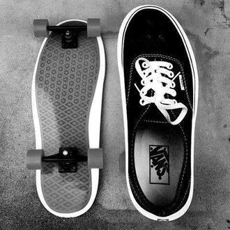 shoes vans sneakers wheels roller skates skates black vans of the wall summer sports