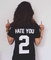Black hate you 2 sporty style t