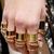 Grecian Ring Set - Knee Deep Denim