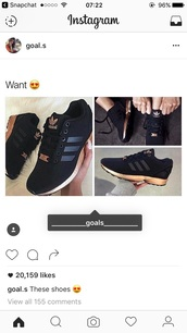 shoes,adidas,adidas zx flux,black sneakers