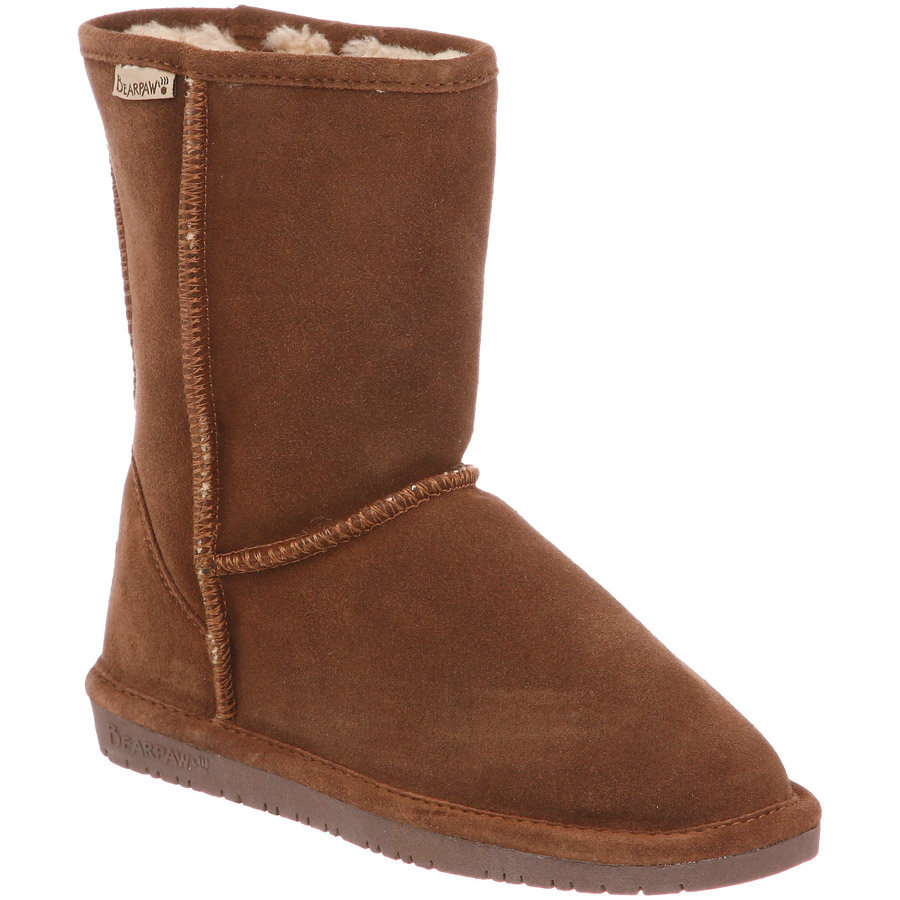 "Emma 8"" Boot for Women by BEARPAW SHOES in Hickory"