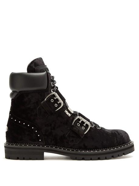 velvet ankle boots ankle boots velvet black shoes