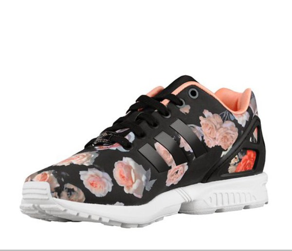 adidas zx flux roses