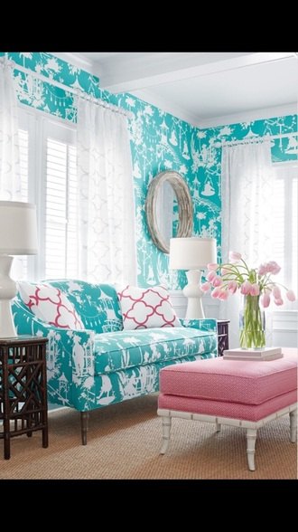 home accessory home decor sofa turquoise classy