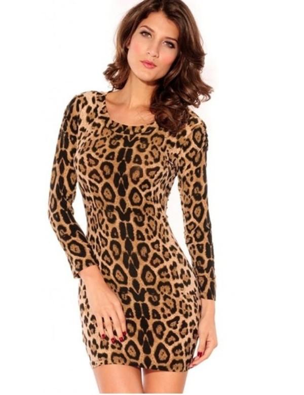 dress animalprint