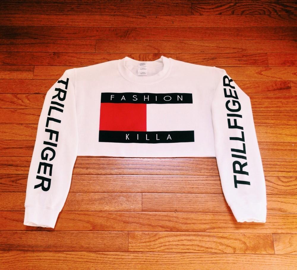 Soto Militia Fashion Killa X Trillfiger Crop Sweater