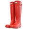 Hunter original gloss pillar box red wellies