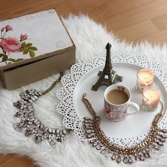 necklace jewels diamonds stone crystal quartz collar shiny classy