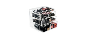 make-up beauty original beauty box beauty box box beauty storage make up make-up storage jewels nars eye shadow foundation storage america california organize organizer bag fashion cosmetics