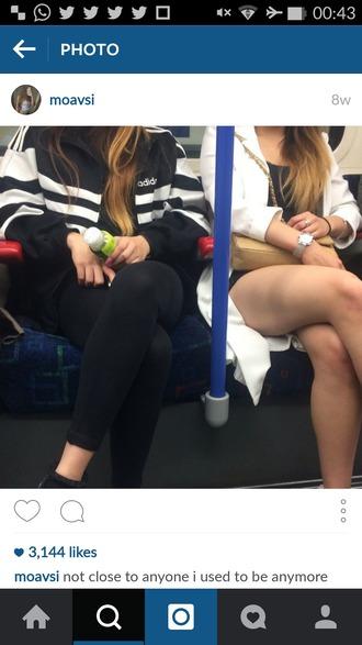 jacket black adidas adidas jacket adidas sweater adidas sweatshirt black and white